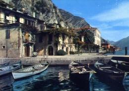 Limone - Il Porto - Lago Di Garda - Formato Grande Non Viaggiata – E 10 - Brescia