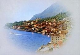 Limone - Lago Di Garda - 1078 - Formato Grande Viaggiata – E 10 - Brescia