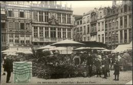 BRUXELLES :   Grand'Place : Marché Aux Fleurs - Monumenten, Gebouwen