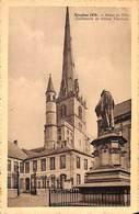 Nivelles 1939 - Hôtel De Ville, Collégiale Et Statue Tinctoris - Nivelles