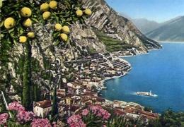 Limone - Lago Di Garda - 121 - Formato Grande Viaggiata Mancante Di Affrancatura – E 10 - Brescia