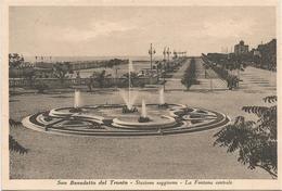 W1329 San Benedetto Del Tronto (Ascoli Piceno) - Fontana Centrale / Non Viaggiata - Italia