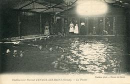 Evaux Les Bains  La Pscine  Etalissement Thermal - Evaux Les Bains