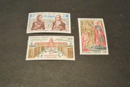 K19242  Set  MNH France 1973 -  SC. 1383-1385 - History Of France - Frankreich