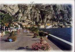 Limone - Lago Di Garda - 2110 - Formato Grande Viaggiata – E 10 - Brescia