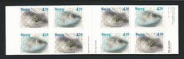 Norway 2000 Fish S.A. Booklet  Y.T. C 1307 ** - Carnets