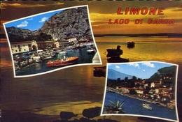 Limone - Lago Di Garda - 2116 - Formato Grande Viaggiata – E 10 - Brescia