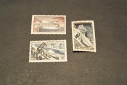 K19126 -set MNH France 1956 - SC. 807-809- Technical Achievements - Ongebruikt
