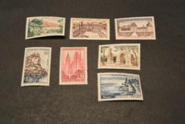 K19137 -set  MNH France 1957 -  SC. 850-856- Views - Frankreich