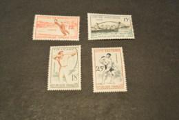 K19144 - Set MNH France 1958 - SC. 883-886 - Sports - Timbres