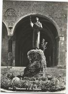 W1331 Rieti - Monumento A San Francesco / Viaggiata 1960 - Rieti