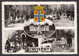 90330/ CHATEAUX, France, Cheverny, Chasse à Courre Au Château - Châteaux
