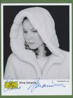 ELINA GARANCA  AUTOGRAPHE / AUTOGRAMM  Photo 20/27 Cm   *Opera/ Mezzo-Soprano* - Autographs