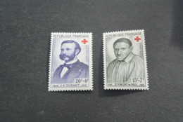 K18974 -set MNh France 1958 - SC. B327-328 - Croix Rouge - Red Cross - Croix-Rouge