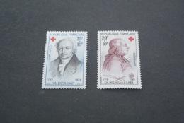K18977 -set MNh France 1959 - SC. B337-338 - Croix Rouge - Red Cross - Croix-Rouge