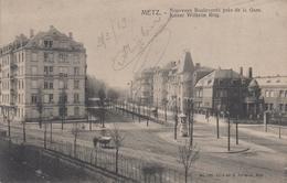 CPA Metz - Nouveaux Boulevards Près De La Gare - Kaiser Wilhelm Ring - Metz