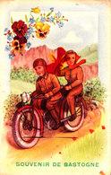 Souvenir De BASTOGNE - Carte Colorée à Système - Bastenaken