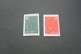 K19012 -set MNh France 1972 - SC. B461-462 - Croix Rouge - Red Cross - Croix-Rouge