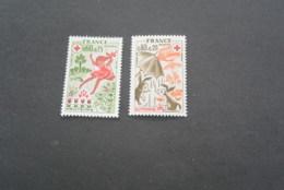K19018 -set MNH France - 1975 - Croix Rouge - Red Cross - Croix-Rouge