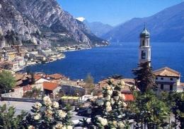 Limone - Lago Di Garda - 2190 - Formato Grande Viaggiata – E 10 - Brescia