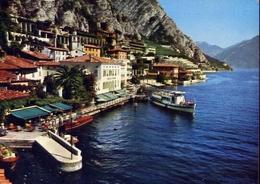 Limone - Lago Di Garda - 308-029 - Formato Grande Viaggiata Mancante Di Affrancatura – E 10 - Brescia