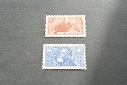 K18887 -set MNh -  France 1936 - SC. 313-314 - Jean Leon Jaures - Ongebruikt