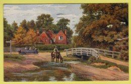 Hampshire - Brockenhurst, Brockley Watersplash By A. R. Quinton  - J. Salmon 2871 Postcard - 1924 - Other