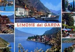 Limone - Lago Di Garda - 308-060 - Formato Grande Non Viaggiata – E 10 - Brescia