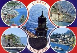 Limone - Lago Di Garda - 649 - Formato Grande Non Viaggiata – E 10 - Brescia