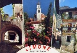 Limone - Lago Di Garda - 9-0261 - Formato Grande Viaggiata – E 10 - Brescia