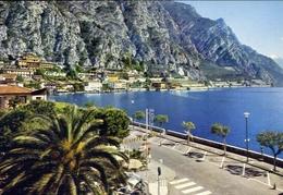 Limone - Lungolago - Lago Di Garda - 153 - Formato Grande Viaggiata – E 10 - Brescia