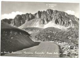 W1335 Strada Panoramica Leonessa Terminillo (Rieti) - Passo Sella / Viaggiata 1964 - Altre Città
