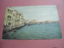 TARANTO - VIA CARIATI E PESCHERIA - 1912 - Taranto