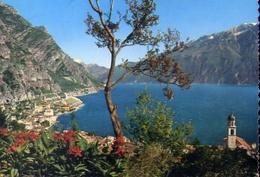 Limone - Panorama - Lago Di Garda - 2180 - Formato Grande Viaggiata – E 10 - Brescia