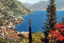 Limone - Panorama - Lago Di Garda - 2185 - Formato Grande Viaggiata Mancante Di Affrancatura – E 10 - Brescia