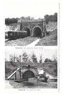 Godarville - Le Tunnel Du Chemin De Fer - Le Tunnel Du Canal. - Chapelle-lez-Herlaimont
