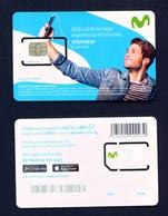 COSTA RICA - Movistar SIM Card Mint With Chip - Costa Rica