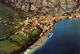 Limone - Veduta Aerea - Lago Di Garda - 45 - Formato Grande Viaggiata – E 10 - Brescia