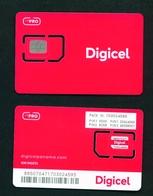 PANAMA - Digicel SIM Card Mint With Chip - Panama
