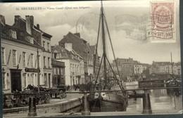 BRUXELLES :  Vieux Canal (Quai Aux Briques) - Maritiem