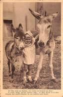 Si L'âne était Un Homme, Ses Vertus En Feraient Un Dieu ! Société Protectrice Des Animaux Veeweyde - Anes