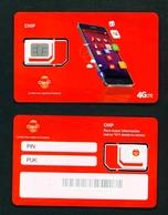 PANAMA - Claro SIM Card Mint With Chip (type 1) - Panama