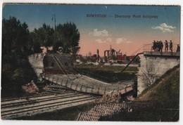 POLAND Bialystok - Zburzony Most Kolejowy Esperanto - Pologne