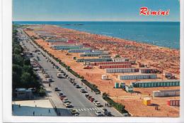 Rimini, Lungomare E Spiaggia, Unused Postcard [22923] - Rimini