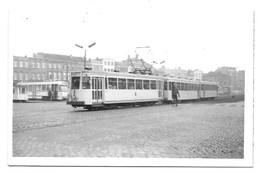 Merksem - Victor Roosenplein - Tram - Fotokaart. - Antwerpen