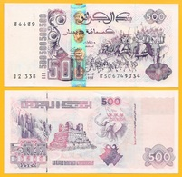 Algeria 500 Dinars P-141(3) 1998 New Signature UNC Banknote - Algérie