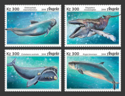 Z08 ANG18126a Angola 2018 Whales MNH ** Postfrisch - Angola
