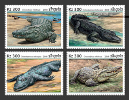 Z08 ANG18129a Angola 2018 Crocodiles MNH ** Postfrisch - Angola