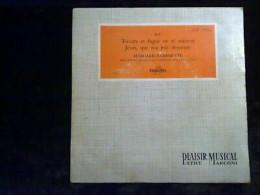 Bach: Toccata Et Fugue En Ré Mineur-Edouard Commette/ 45t Columbia ESBF 17056 - Klassik