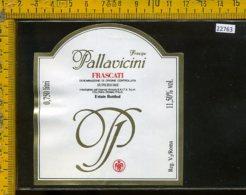 Etichetta Vino Liquore Frascati Principe Pallavicini-Collona RM - Etichette